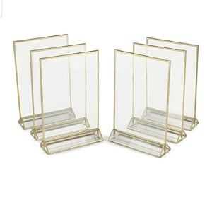 5x7 Acrylic Display Frames